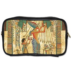 Egyptian Man Sun God Ra Amun Toiletries Bag (two Sides)