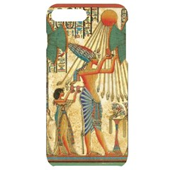 Egyptian Man Sun God Ra Amun Iphone 7/8 Plus Black Uv Print Case
