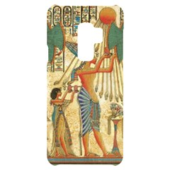 Egyptian Man Sun God Ra Amun Samsung S9 Plus Black Uv Print Case