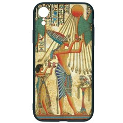 Egyptian Man Sun God Ra Amun Iphone Xr Soft Bumper Uv Case
