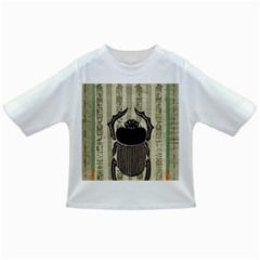 Egyptian Design Beetle Infant/toddler T Shirts