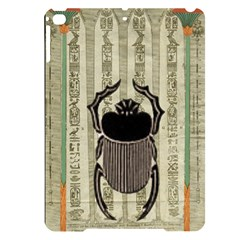 Egyptian Design Beetle Apple Ipad Pro 9 7   Black Uv Print Case