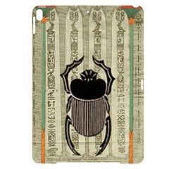 Egyptian Design Beetle Apple Ipad Pro 10 5   Black Uv Print Case