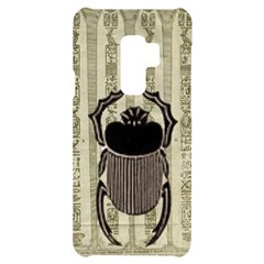 Egyptian Design Beetle Samsung S9 Plus Black Uv Print Case