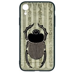Egyptian Design Beetle Iphone Xr Soft Bumper Uv Case