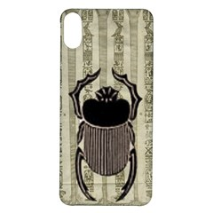 Egyptian Design Beetle Iphone X/xs Soft Bumper Uv Case