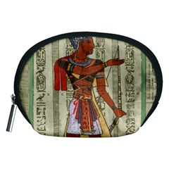 Egyptian Design Man Royal Accessory Pouch (medium) by Sapixe