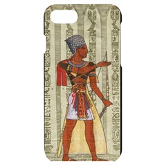 Egyptian Design Man Royal Iphone 7/8 Black Uv Print Case