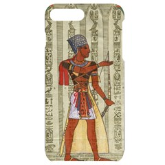 Egyptian Design Man Royal Iphone 7/8 Plus Black Uv Print Case