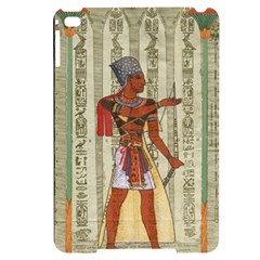 Egyptian Design Man Royal Apple Ipad Mini 4 Black Uv Print Case