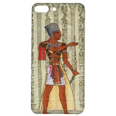 Egyptian Design Man Royal Iphone 7/8 Plus Soft Bumper Uv Case