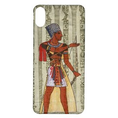 Egyptian Design Man Royal Iphone X/xs Soft Bumper Uv Case