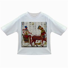 Egyptian Tutunkhamun Pharaoh Design Infant/toddler T Shirts