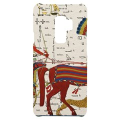 Egyptian Tutunkhamun Pharaoh Design Samsung S9 Plus Black Uv Print Case
