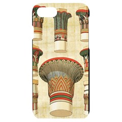 Egyptian Architecture Column Iphone 7/8 Black Uv Print Case