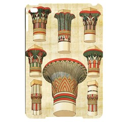 Egyptian Architecture Column Apple Ipad Mini 4 Black Uv Print Case