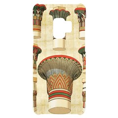 Egyptian Architecture Column Samsung S9 Black Uv Print Case