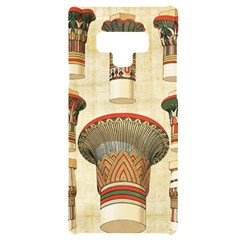 Egyptian Architecture Column Samsung Note 9 Black Uv Print Case