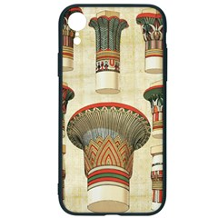 Egyptian Architecture Column Iphone Xr Soft Bumper Uv Case