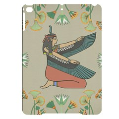 Egyptian Woman Wings Design Apple Ipad Pro 9 7   Black Uv Print Case