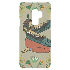 Egyptian Woman Wings Design Samsung S9 Plus Black Uv Print Case
