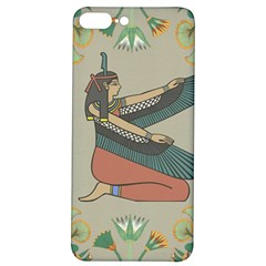 Egyptian Woman Wings Design Iphone 7/8 Plus Soft Bumper Uv Case