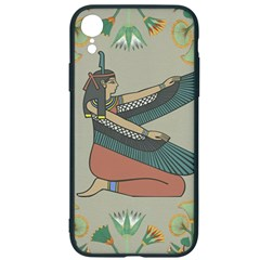 Egyptian Woman Wings Design Iphone Xr Soft Bumper Uv Case