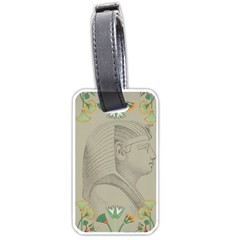 Pharaoh Egyptian Design Man King Luggage Tag (two Sides)