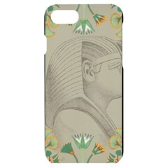 Pharaoh Egyptian Design Man King Iphone 7/8 Black Uv Print Case