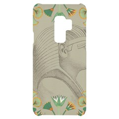 Pharaoh Egyptian Design Man King Samsung S9 Plus Black Uv Print Case