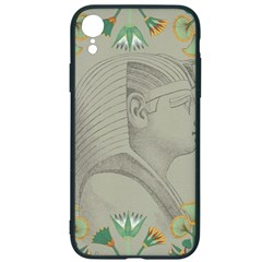 Pharaoh Egyptian Design Man King Iphone Xr Soft Bumper Uv Case
