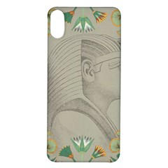 Pharaoh Egyptian Design Man King Iphone X/xs Soft Bumper Uv Case