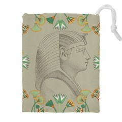 Pharaoh Egyptian Design Man King Drawstring Pouch (xxxl)
