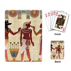 Egyptian Design Man Woman Priest Playing Cards Single Design by Sapixe