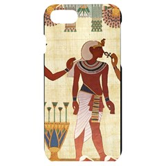 Egyptian Design Man Woman Priest Iphone 7/8 Black Uv Print Case