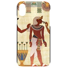 Egyptian Design Man Woman Priest Iphone Xr Black Uv Print Case