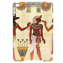 Egyptian Design Man Woman Priest Apple Ipad Mini 4 Black Uv Print Case