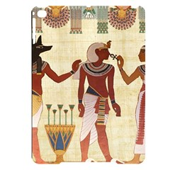 Egyptian Design Man Woman Priest Apple Ipad Pro 9 7   Black Uv Print Case