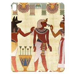 Egyptian Design Man Woman Priest Apple Ipad Pro 12 9   Black Uv Print Case