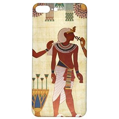 Egyptian Design Man Woman Priest Iphone 7/8 Plus Soft Bumper Uv Case