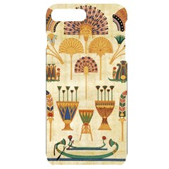 Egyptian Paper Papyrus Hieroglyphs Iphone 7/8 Plus Black Uv Print Case
