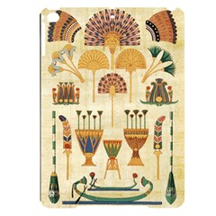 Egyptian Paper Papyrus Hieroglyphs Apple Ipad Pro 9 7   Black Uv Print Case