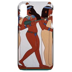 Egypt Fresco Mural Decoration Iphone Xr Black Uv Print Case