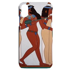 Egypt Fresco Mural Decoration Iphone X/xs Black Uv Print Case