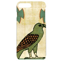Egyptian Paper Papyrus Bird Iphone 7/8 Plus Black Uv Print Case