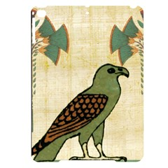 Egyptian Paper Papyrus Bird Apple Ipad Pro 9 7   Black Uv Print Case