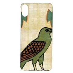 Egyptian Paper Papyrus Bird Iphone X/xs Soft Bumper Uv Case