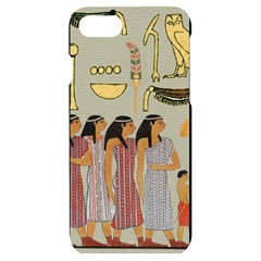 Egyptian Paper Women Child Owl Iphone 7/8 Black Uv Print Case