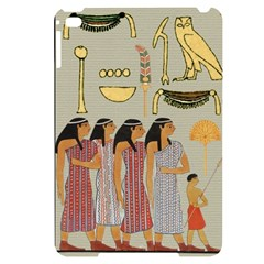 Egyptian Paper Women Child Owl Apple Ipad Mini 4 Black Uv Print Case