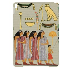 Egyptian Paper Women Child Owl Apple Ipad Pro 10 5   Black Uv Print Case